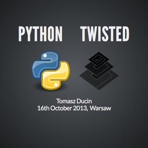 Python twisted
