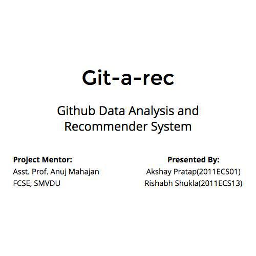 Git-a-rec