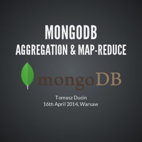 Mongodb aggregation & Map-Reduce
