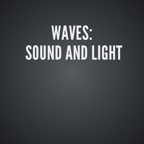 light and sound waves essay Wave motion and sound  examples of longitudinal waves are sound waves through the air or compression  interference of this type occurs in both sound and light.