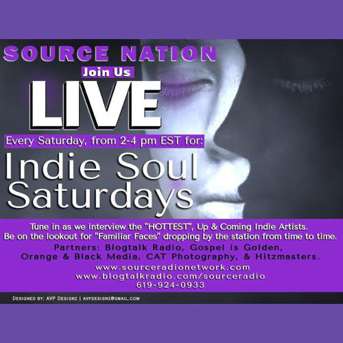 Indie Soul Saturdays with Host Kathy B & Special Guest: R&B Artist