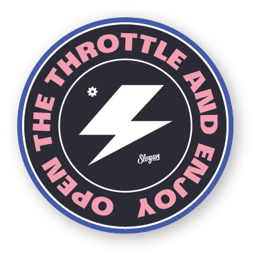 Throttle sticker