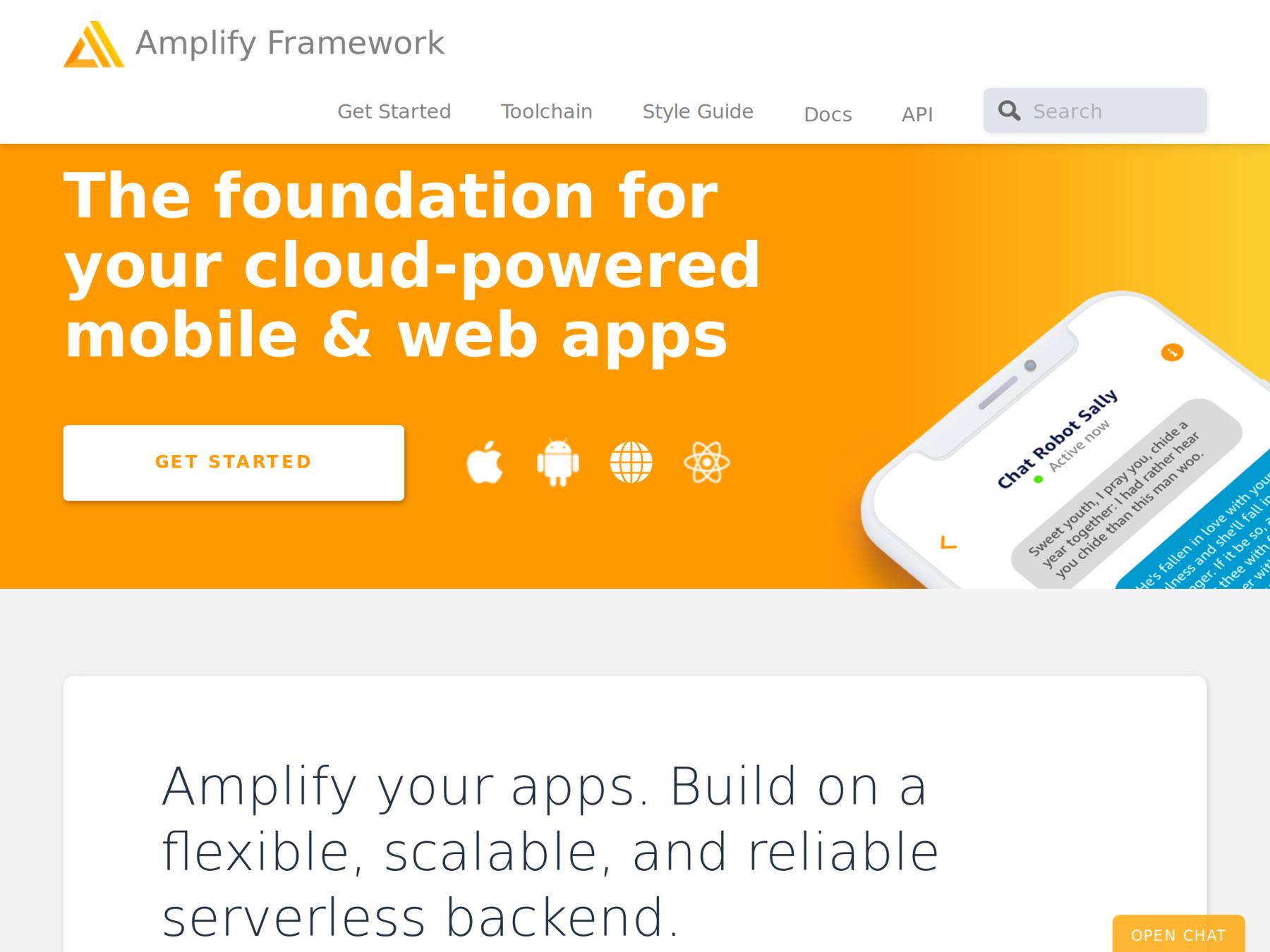 Serverless Applikation entwickeln und deployen mit AWS Amplify