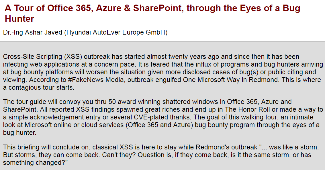 A Tour of Office 365, Azure & SharePoint, through the Eyes