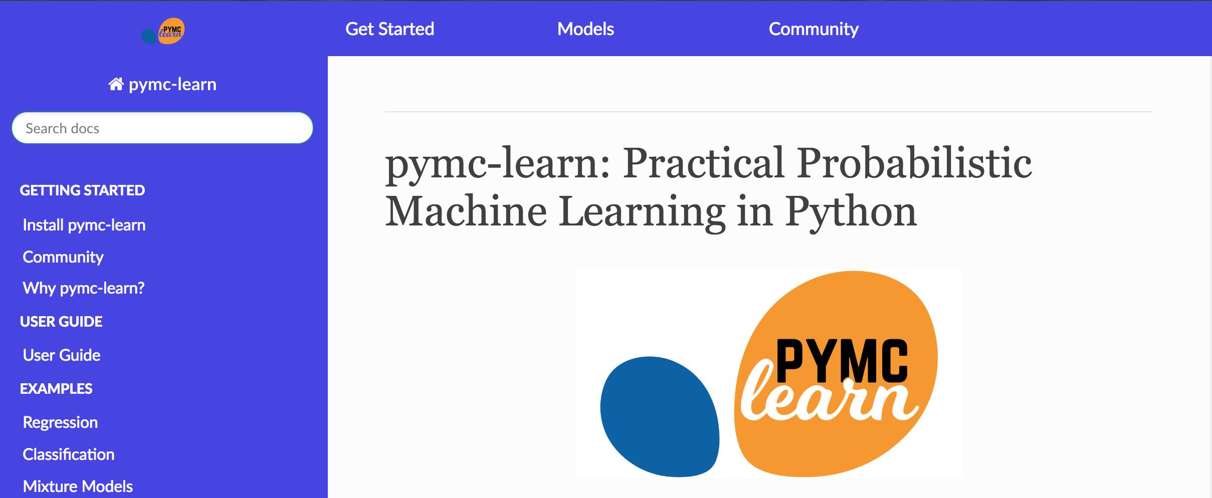 Pymc-Learn: Practical Probabilistic Machine Learning in Python