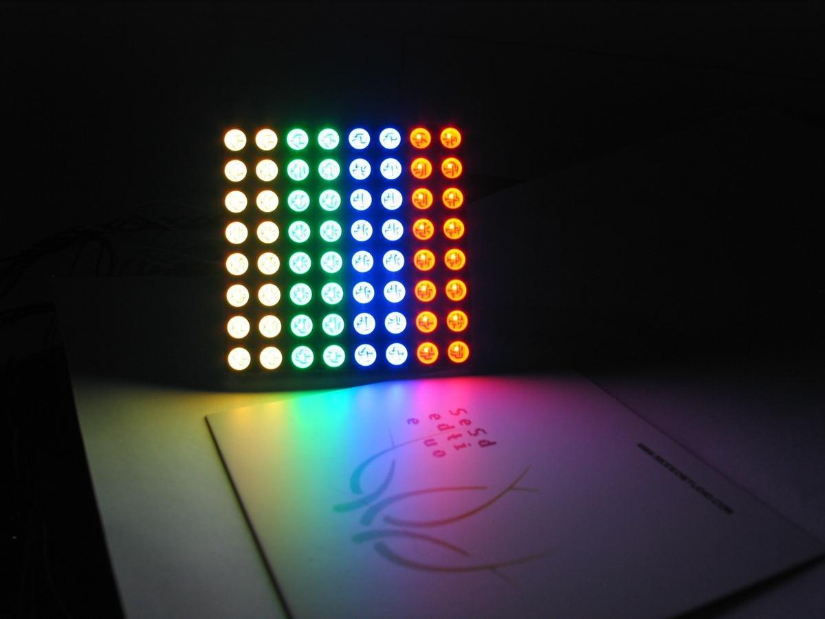 RGB LED Matrix - Solderlab