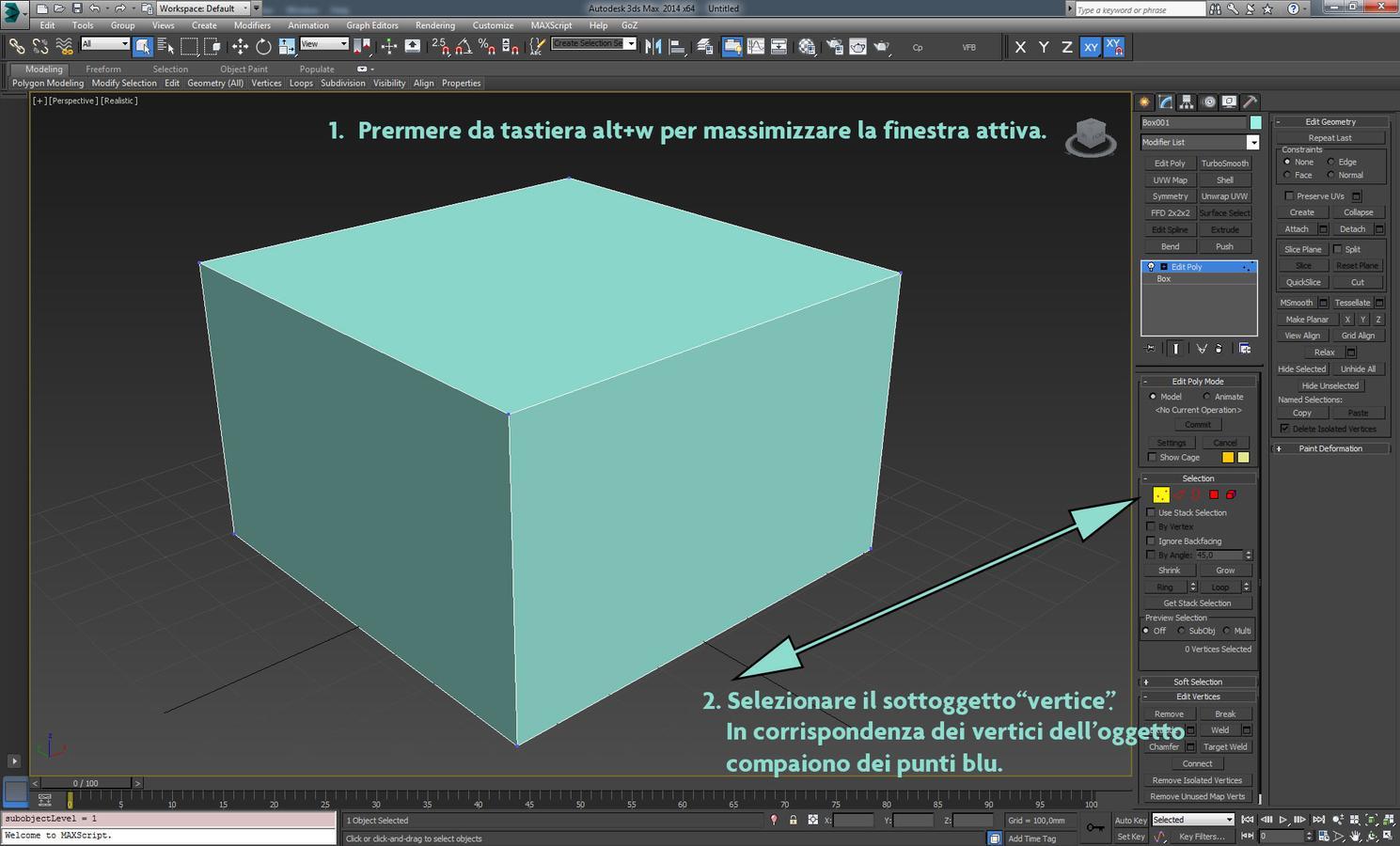 Rappresentazione digitale e rendering - Uscire da finestra layout autocad ...