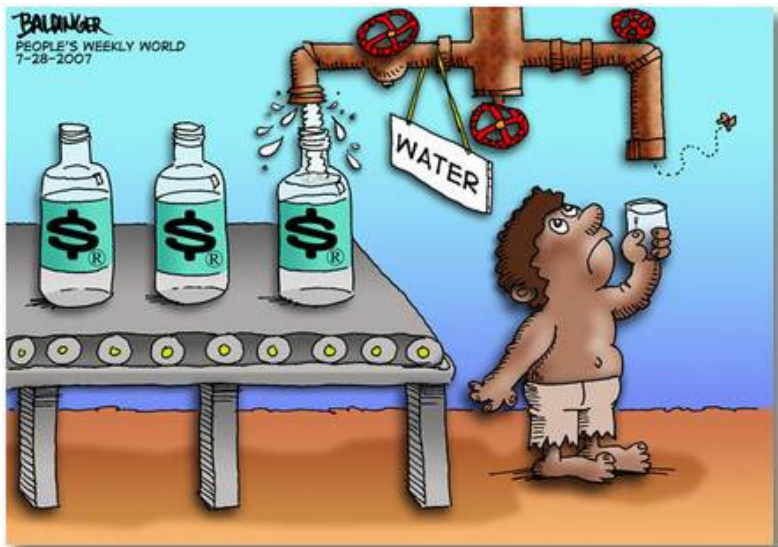 water privatization 5 Firstly, water privatization contributes to reducing the financial burden facing many local governments of the united states the reason is that they lack the financial resources to upgrade and to renovate.