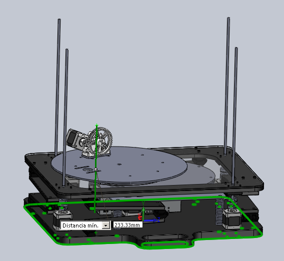 Construcci 211 N De Una Impresora 3d Aditiva
