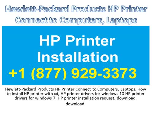 Hewlett-Packard Products HP Printer Connect to Computers, Laptops