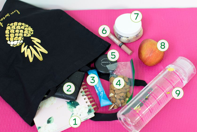 Fitness expert Katie Dunlop shares what's in her bag
