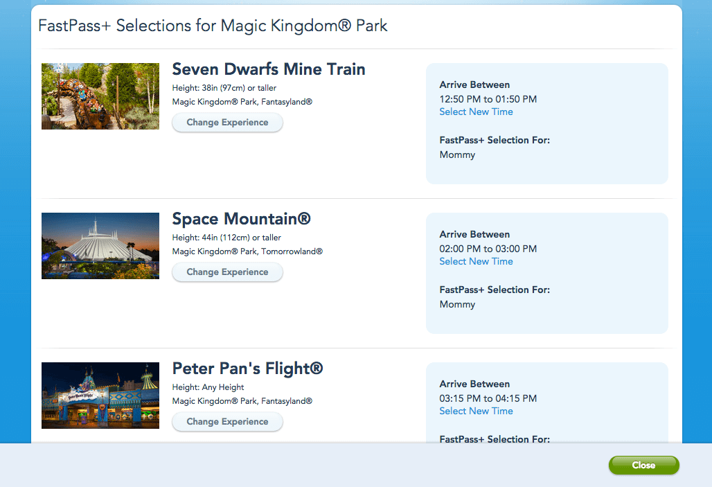 Magic Kingdom Parking Lot Names Magic Kingdom Park