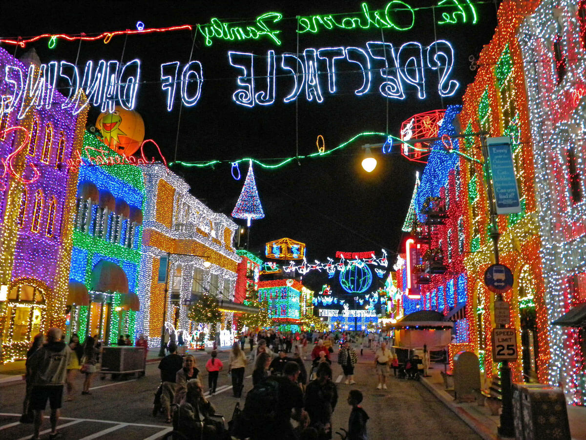 Best Time to Visit Disney World in 2015 - Osborne Family Spectacle of Dancing Lights