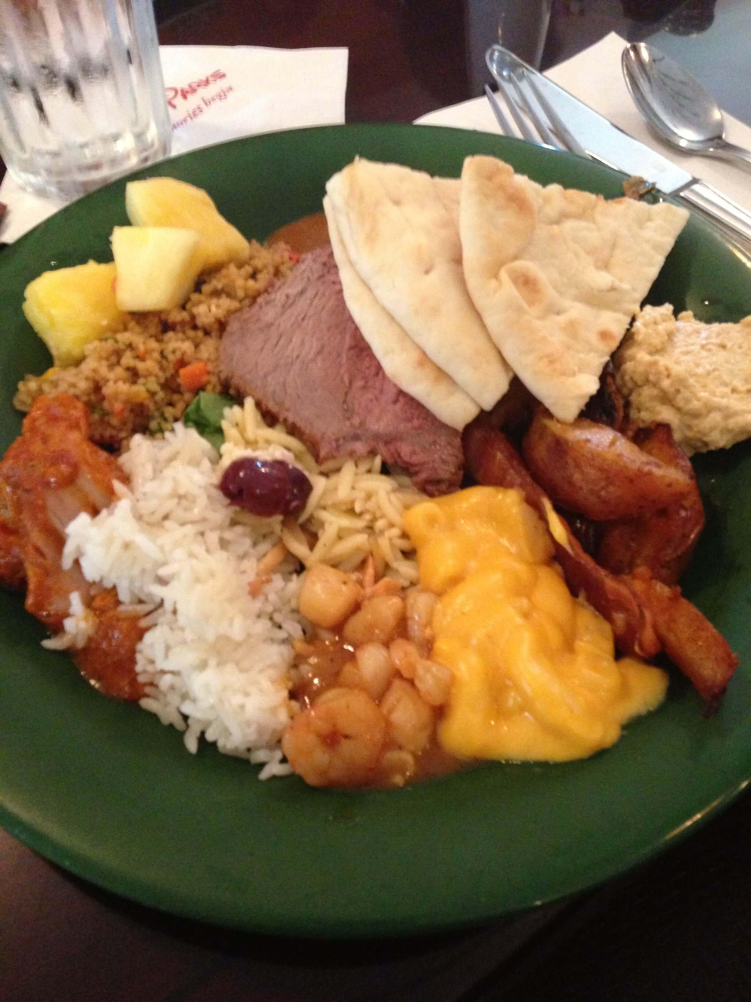 Disney World Restaurant Food