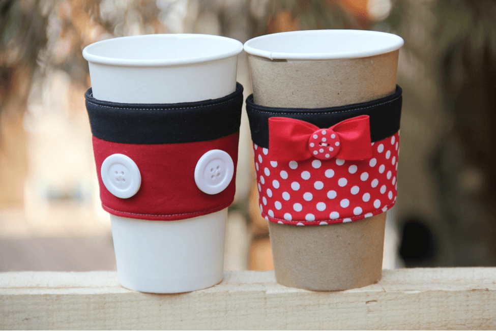 Black Coffee Cup Sleeve