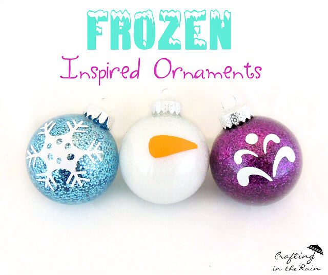 DIY Frozen Ornaments