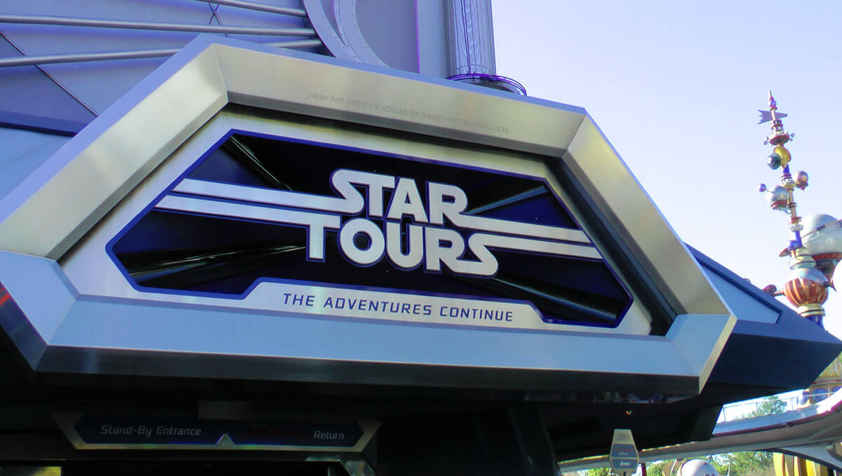 Star Tours The Adventures Continue Video