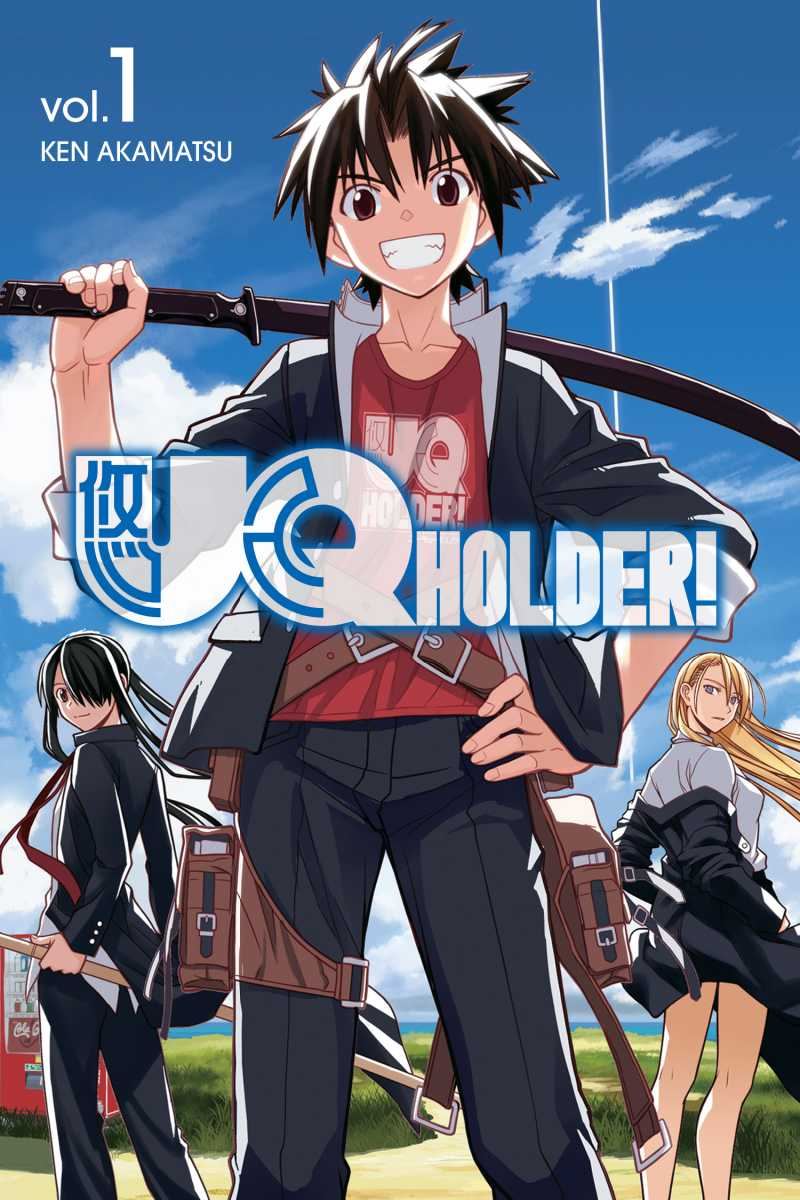 UQ Holder Chapter 1. Page 1 of 86PreviousNext