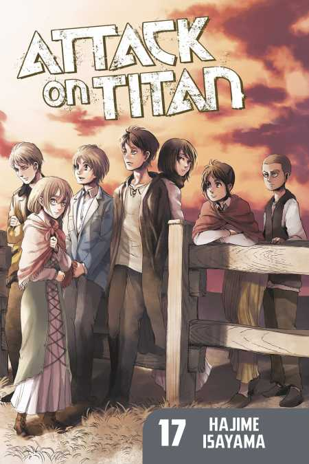 Attack On Titan 17 Kodansha Comics