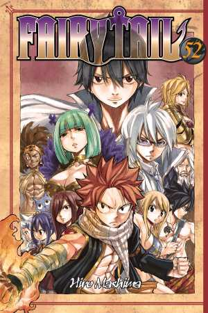 Fairy Tail 52 cover