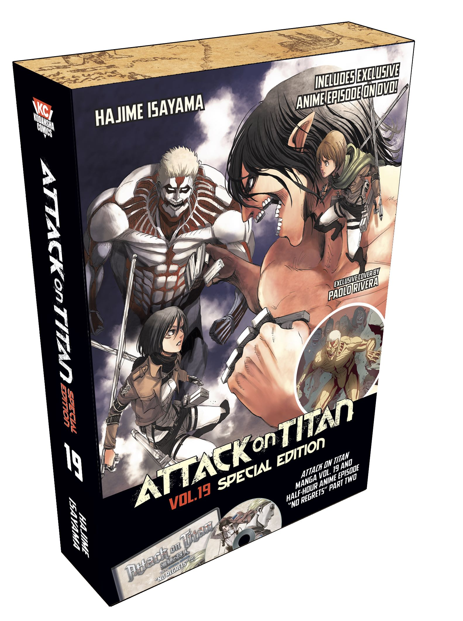 Attack on Titan, Volume 19 Special Edition