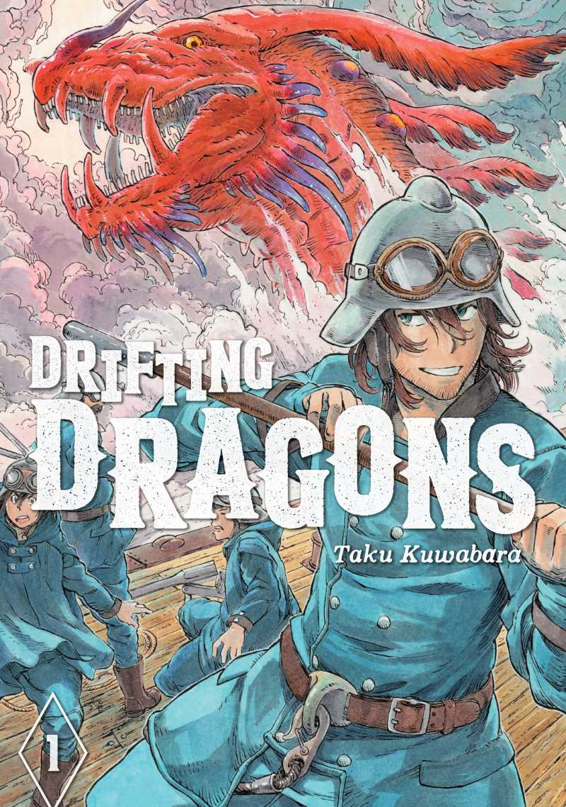 Drifting Dragons Kodansha Comics