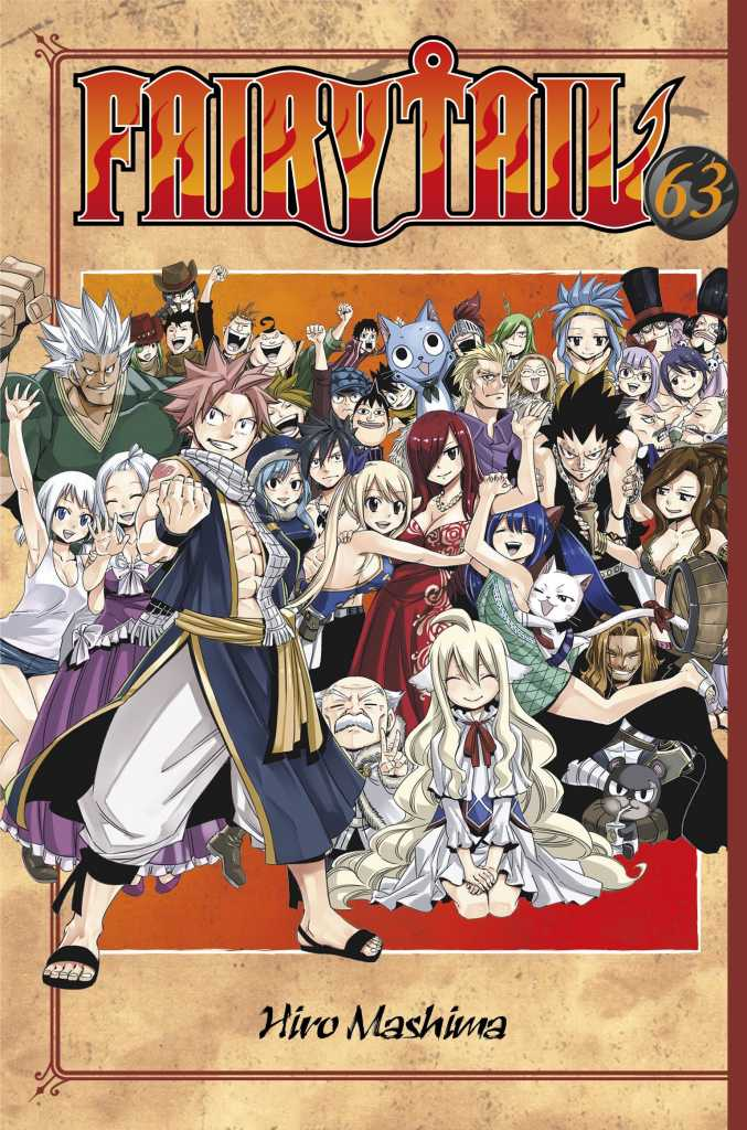 Image result for fairy tail volume 63