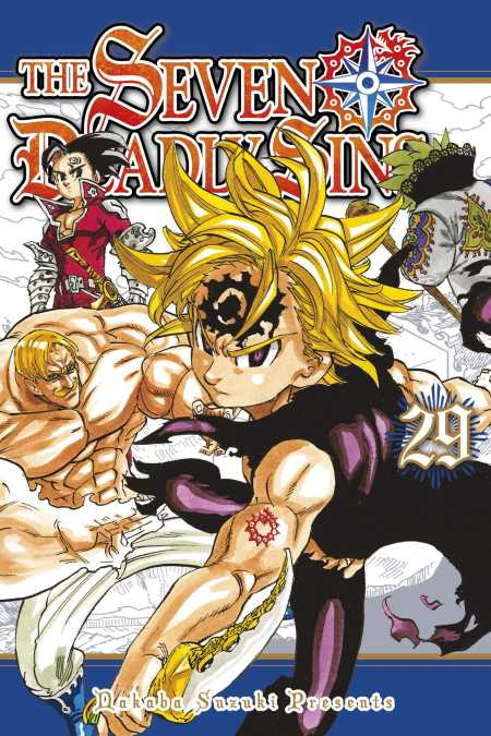 The Seven Deadly Sins - Kodansha Comics