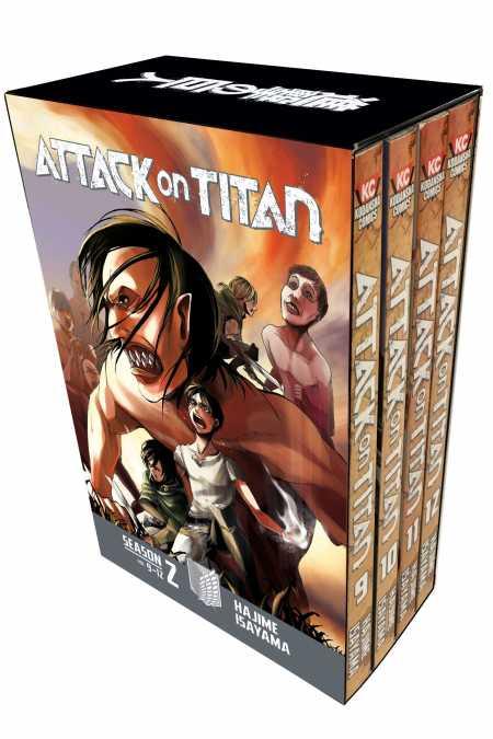 Attack on Titan Season Manga Box Sets - Kodansha Comics