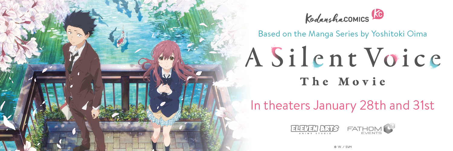 a silent voice the movie returns to theaters january 28 and 31