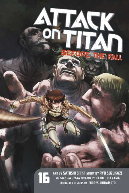 Attack on Titan: Before the Fall - Kodansha Comics
