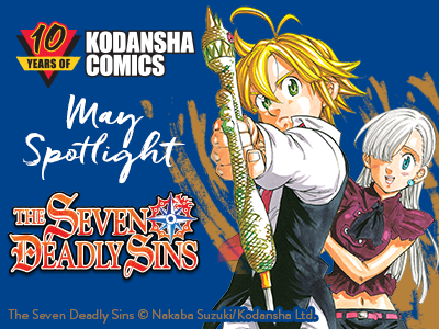 The Seven Deadly Sins - Kodansha Comics