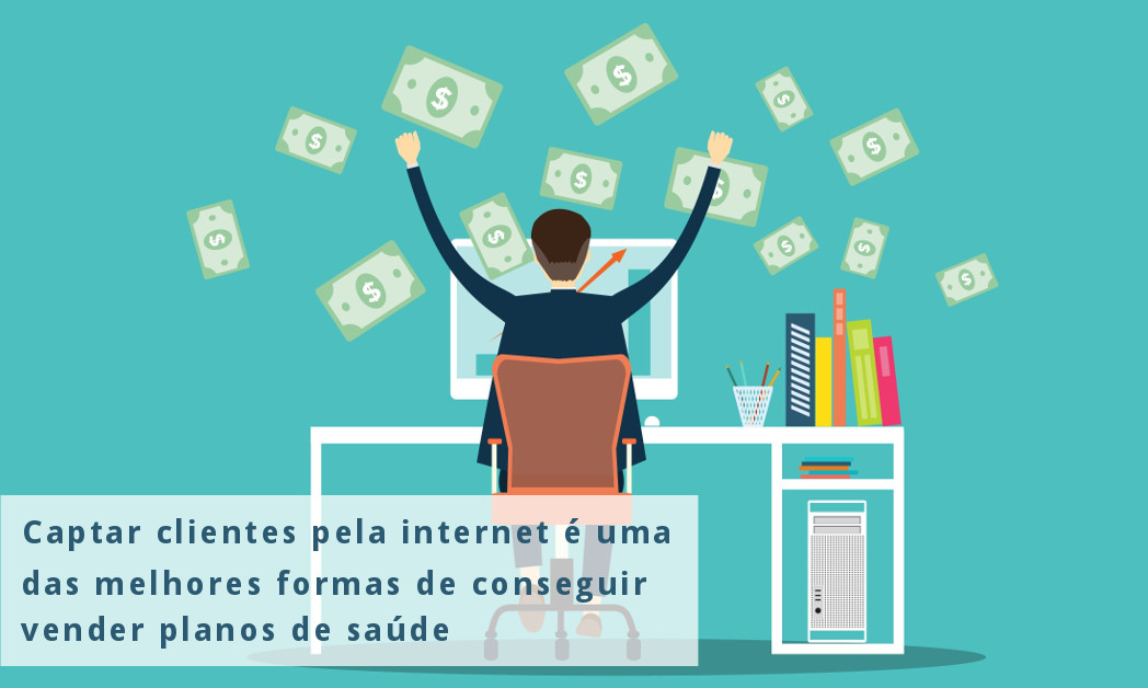 Captação de clientes pela internet é uma das formas de conseguir vender planos de saúde