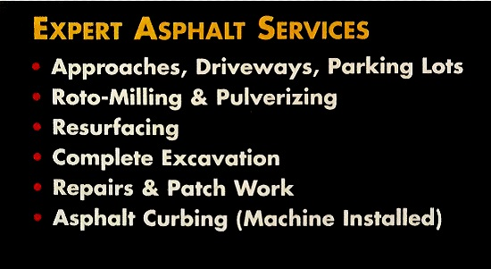 Yeager Asphalt Repair  Asphalt Repair Quote