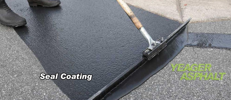 Yeager Asphalt Seal coating