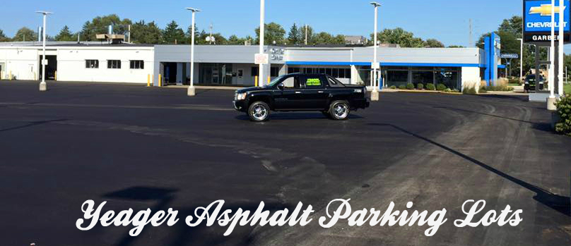 Custom Asphalt Parking Lots
