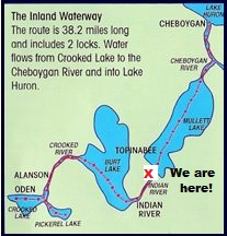 Inland Lakes Indian river MI