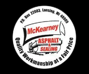 McKearney Asphalt Company Logo
