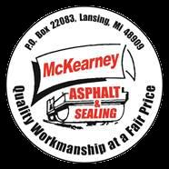 McKearney Asphalt & Sealing Inc Logo
