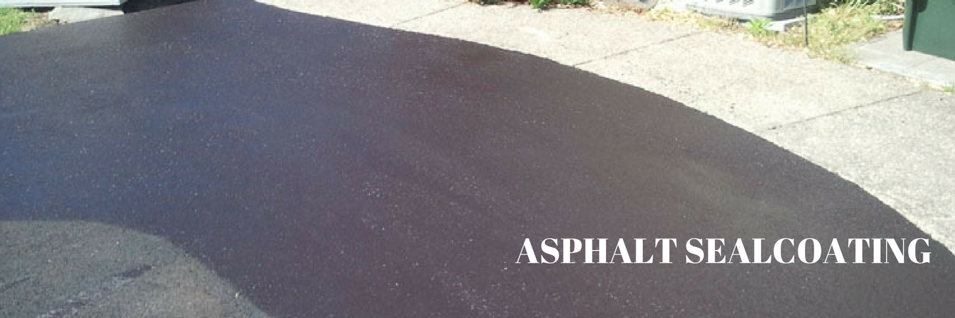 Parking Lot Asphalt Sealcoating