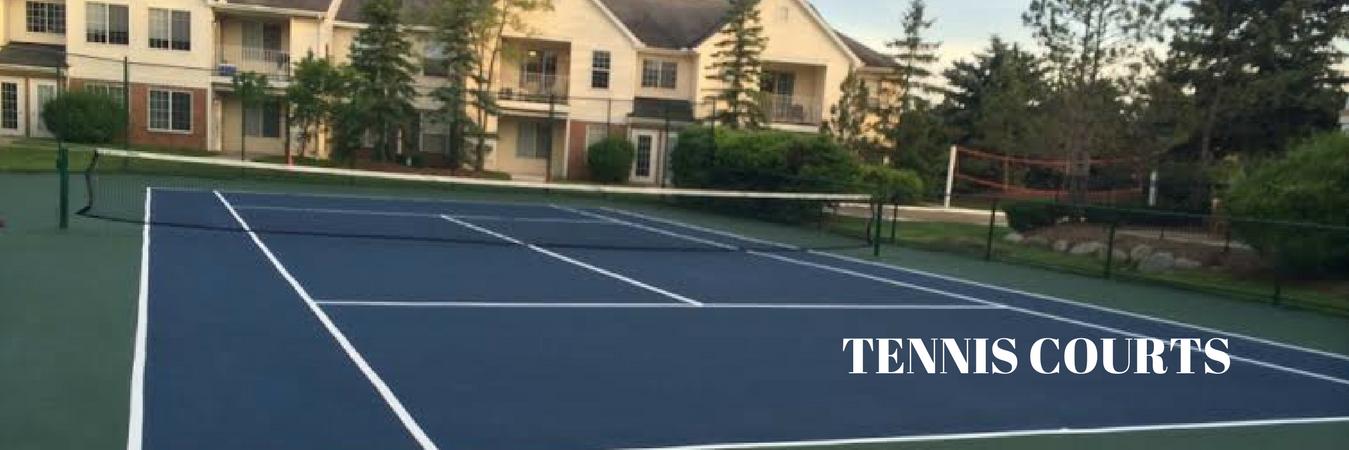New Tennis Court Installation