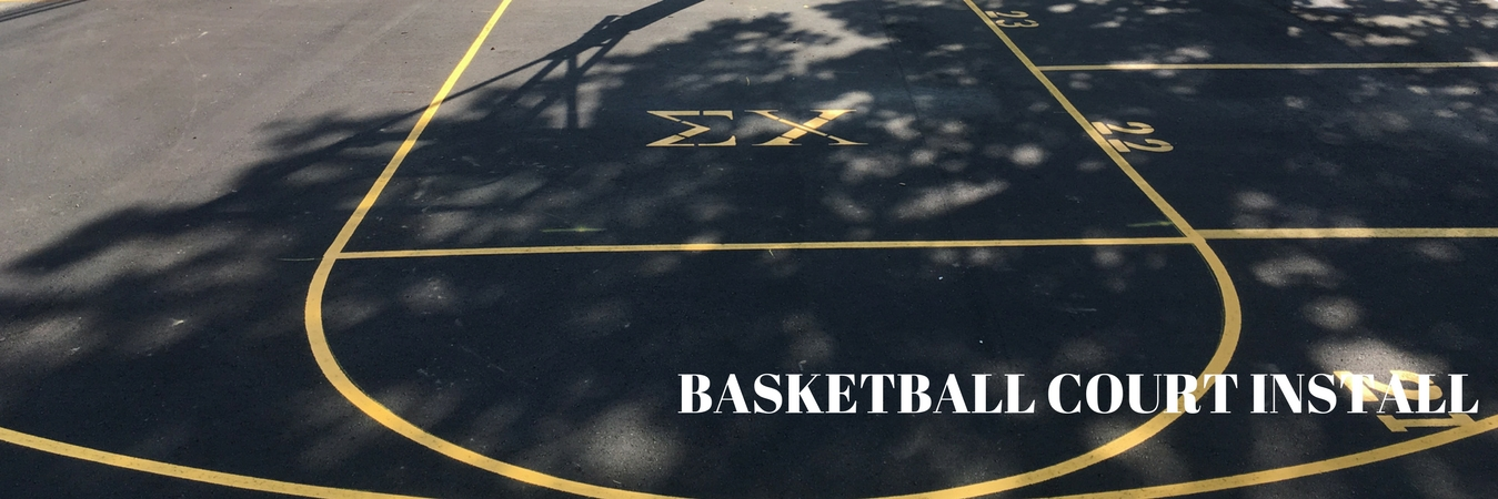 Asphalt Basketball Court Installation