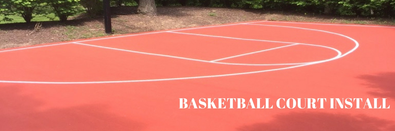 Basketball Court Installation Repair