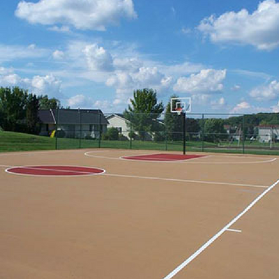 Affordable Basketball Court Installation
