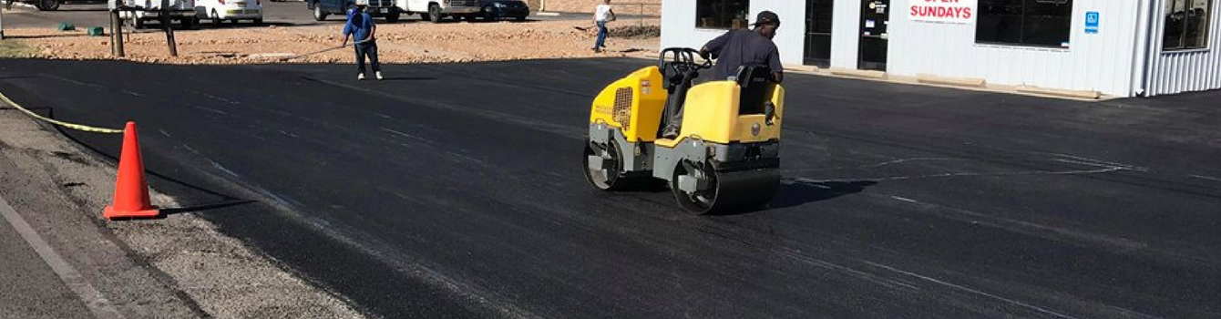 Sealcoating Asphalt Parking Lots