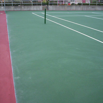 Resurfacing Tennis Courts