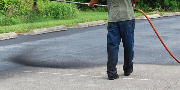 Asphalt Tar and Chip Sealing Work