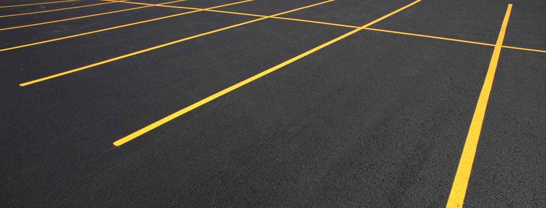 Asphalt Seal Coating Parking Lots