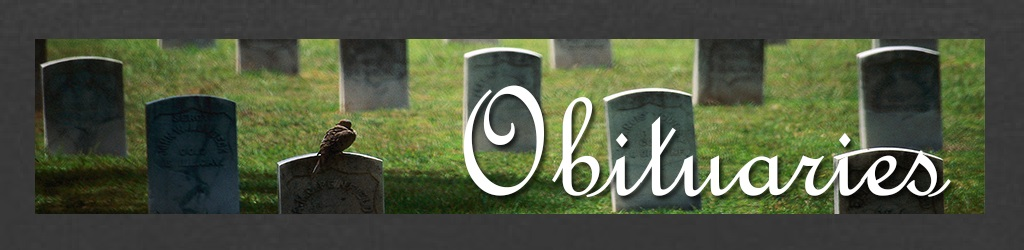 Obituaries Banner