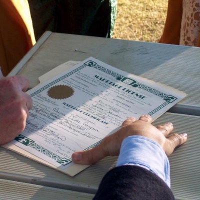Marriage License Fees